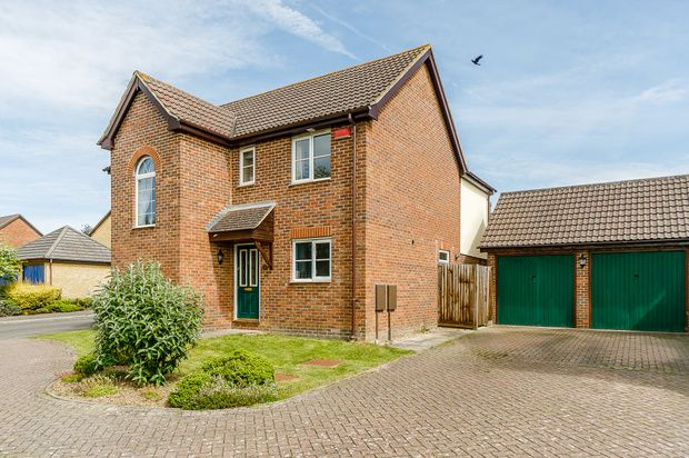 Thumbnail Detached house for sale in Conker Close, Ashford
