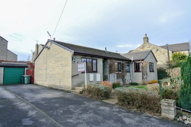 Thumbnail Detached bungalow for sale in Long Lane, Honley, Holmfirth