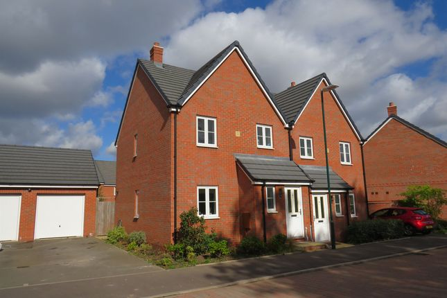 Thumbnail Semi-detached house for sale in Ashfield Lane, Marston Green, Birmingham