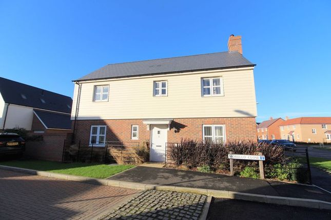 Thumbnail Detached house for sale in Morello Close, Aylesbury