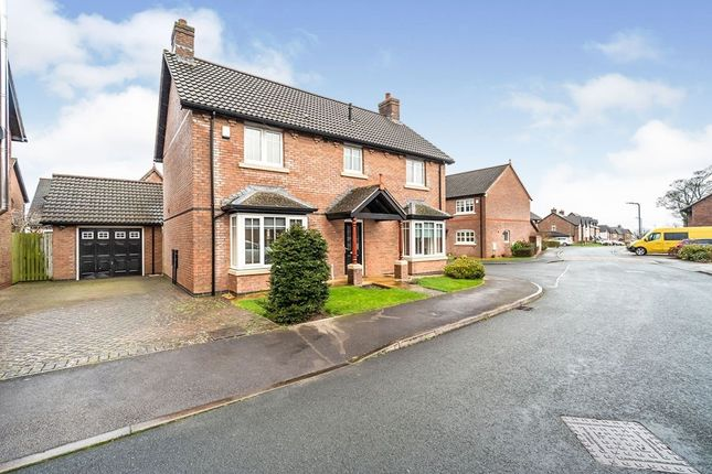 Thumbnail Detached house for sale in Grange View, Wigton, Cumbria