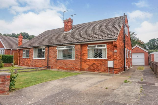Thumbnail Semi-detached bungalow for sale in St. Francis Grove, Laceby