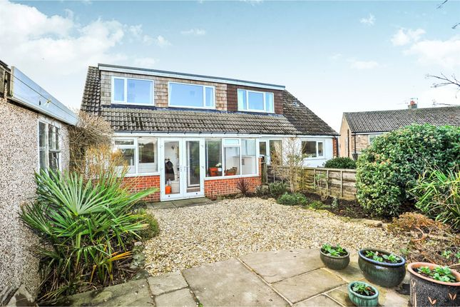 Thumbnail Semi-detached bungalow for sale in Banksfield Grove, Yeadon, Leeds