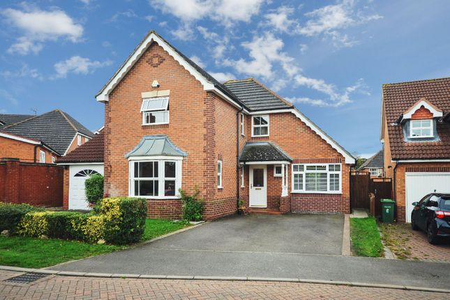 Thumbnail Detached house for sale in Holly Court, Oadby, Leicester