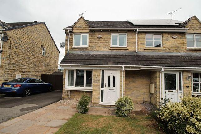 Thumbnail Semi-detached house for sale in Bramble Grove, Elland