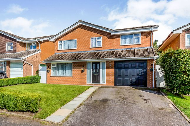 Thumbnail Detached house for sale in Sedbergh Close, Holmes Chapel, Crewe, Cheshire