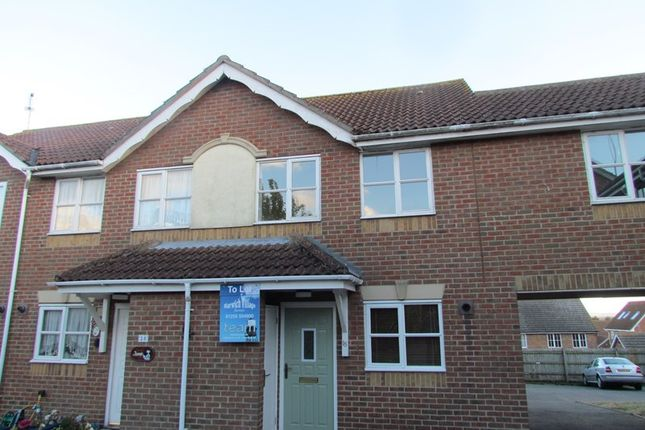 Thumbnail Terraced house to rent in Kingfisher Drive, Dovercourt, Harwich