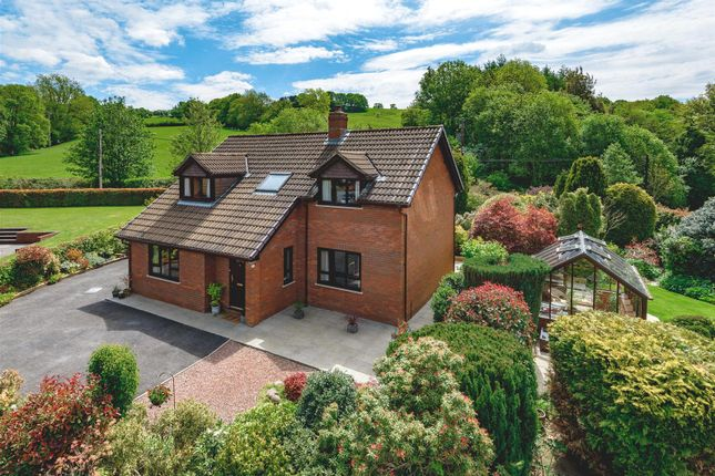 Thumbnail Detached house for sale in Irfon Bridge Close, Builth Wells