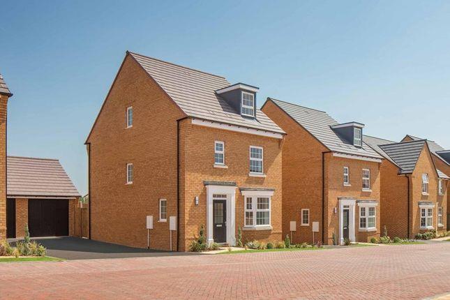 "Thumbnail Detached house for sale in ""Bayswater"" at Briggington, Leighton Buzzard"