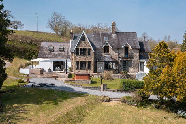 4 bed detached house for sale in Gwynon Villa, Llanarthney, Carmarthen, Sir Gaerfyrddin SA32