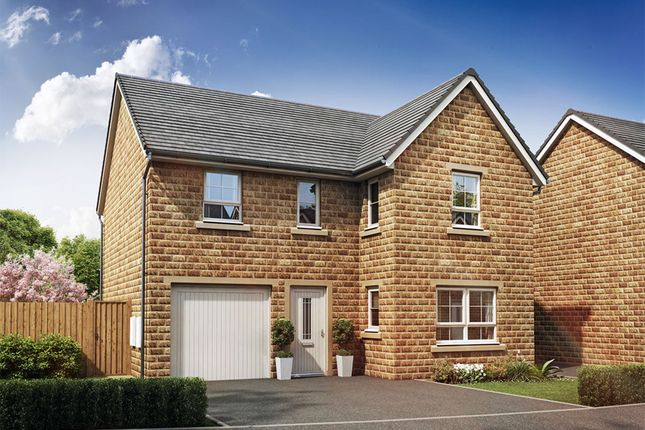 "Thumbnail Detached house for sale in ""Halton"" at Thorpe Green Drive, Golcar, Huddersfield"