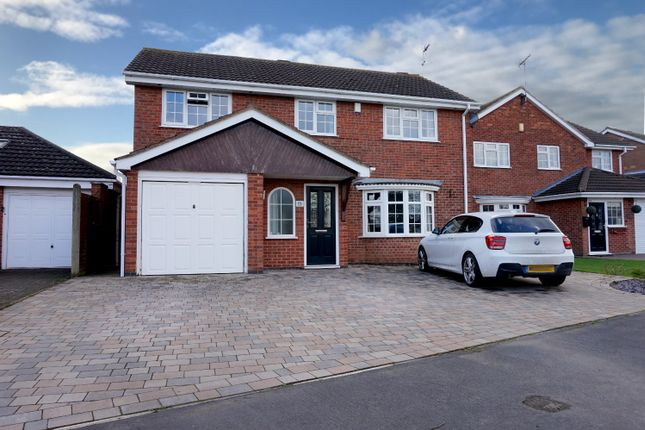 Thumbnail Detached house for sale in Pallett Drive, Nuneaton