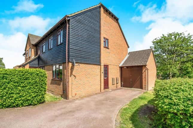 Thumbnail End terrace house for sale in Iris Close, Chatham, Kent