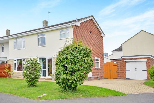Thumbnail Semi-detached house for sale in Howard Cornish Road, Marcham, Abingdon