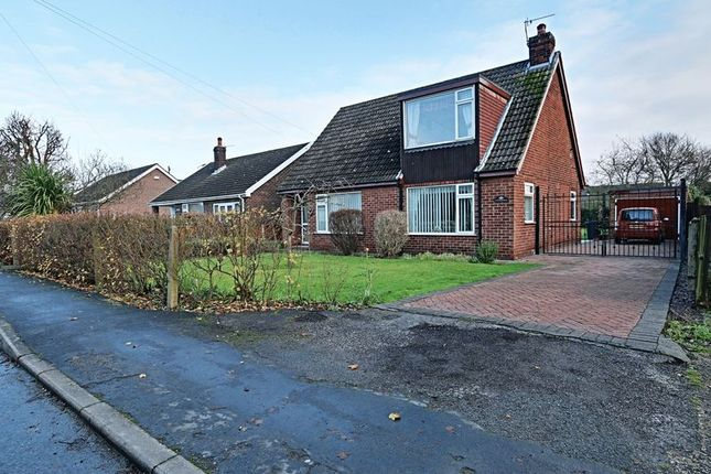 Thumbnail Detached bungalow for sale in Coronation Road, Ulceby