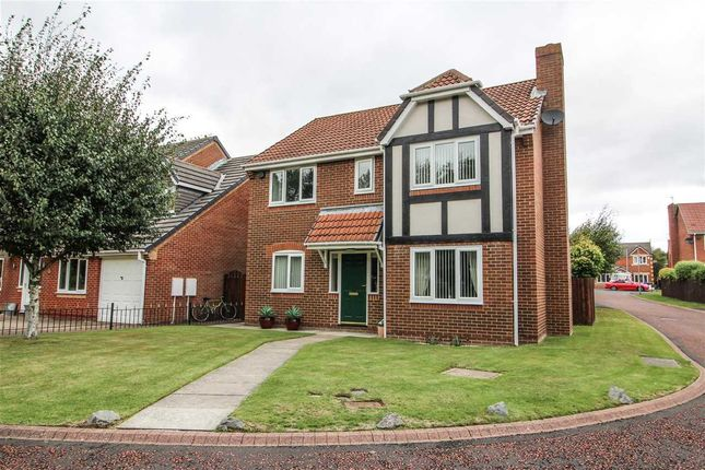 Thumbnail Detached house for sale in Ellerton Way, Hartford Green, Cramlington
