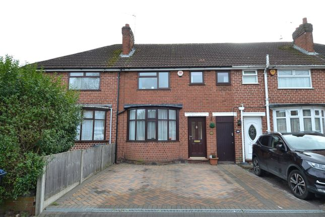 Thumbnail Terraced house for sale in Ryde Park Road, Rednal, Birmingham