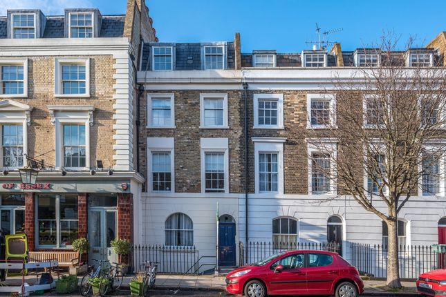 Exterior of Danbury Street, London N1