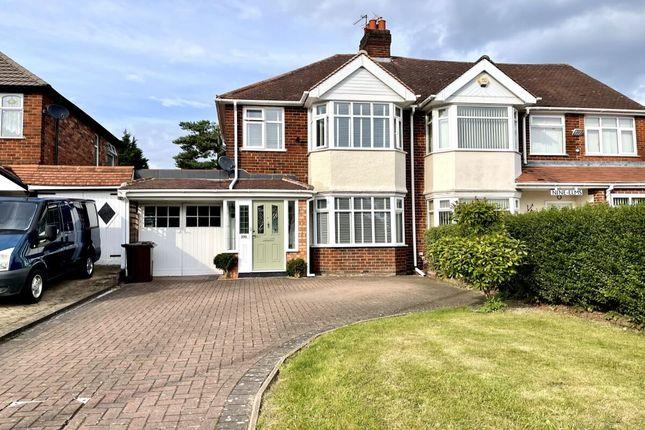 Thumbnail Semi-detached house for sale in Chester Road, Castle Bromwich, Birmingham