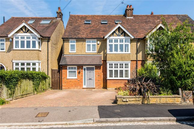 Thumbnail Semi-detached house for sale in Lancaster Road, St. Albans, Hertfordshire