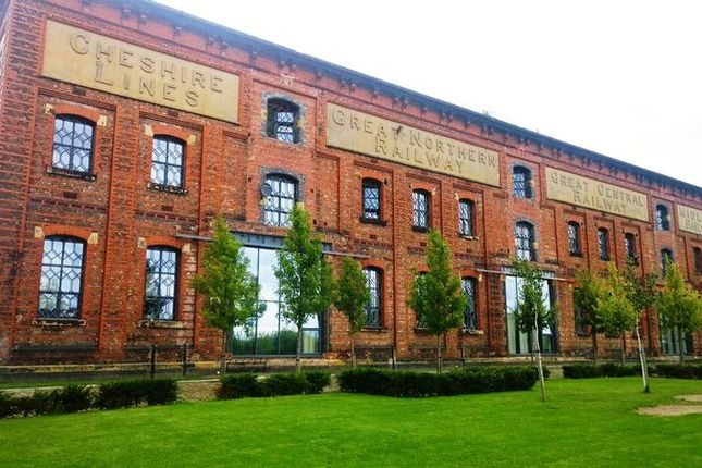 Thumbnail Flat for sale in Barton Court, Central Way, Warrington