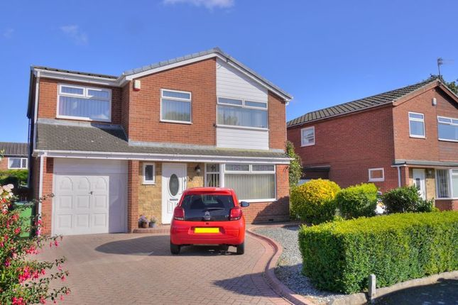 Thumbnail Detached house for sale in The Crest, Bedlington