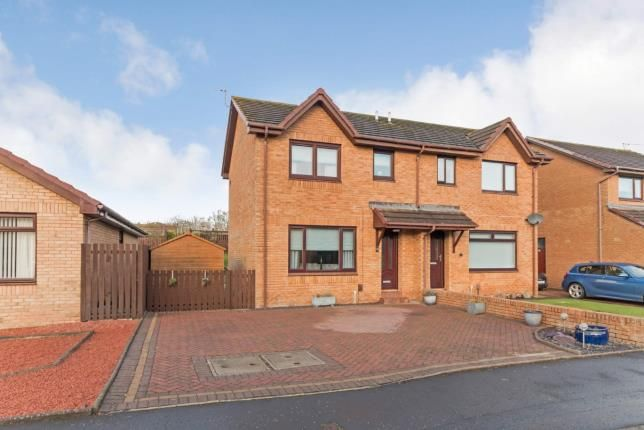 Thumbnail Semi-detached house for sale in Campbell Drive, Troon, South Ayrshire, Scotland