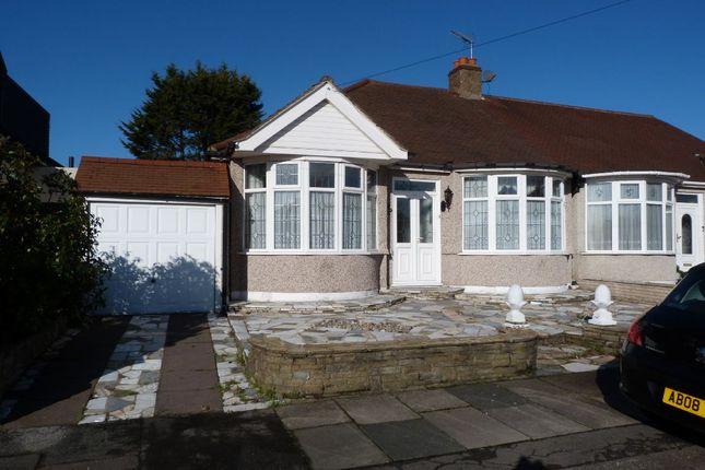 Thumbnail Semi-detached bungalow for sale in Leigh Avenue, Redbridge