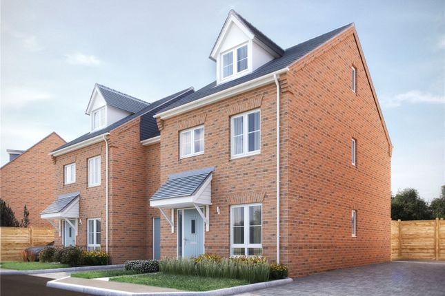 Thumbnail End terrace house for sale in Hadleigh, Pembers Hill Park, Mortimers Lane, Fair Oak