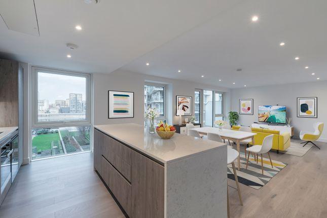 Thumbnail Flat to rent in Juniper Drive, London