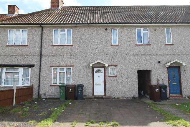 Thumbnail Terraced house to rent in Burnside Road, Dagenham, Essex