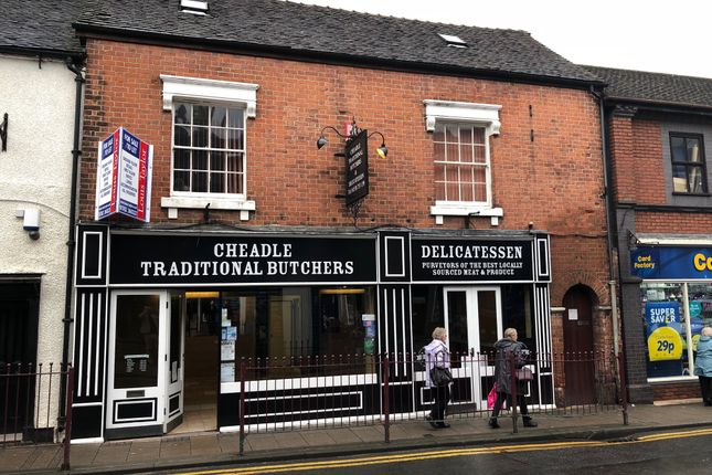 Thumbnail Retail premises to let in 23 High Street, Cheadle, Staffordshire