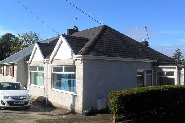 Thumbnail Semi-detached bungalow to rent in Graigola Road, Glais, Swansea.