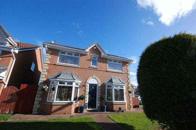 Thumbnail Detached house for sale in Chiltern Close, Ashington