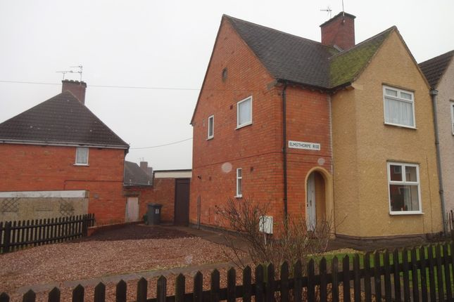 Thumbnail Semi-detached house for sale in Elmsthorpe Rise, Leicester, Leicestershire
