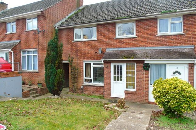 Thumbnail Terraced house to rent in Winnall Manor Road, Winchester