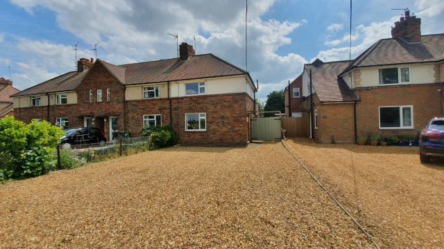 Thumbnail End terrace house for sale in Courteenhall Road, Blisworth, Northampton