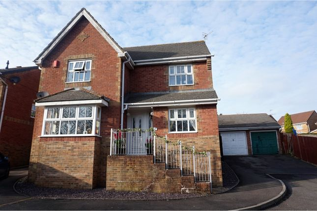 Thumbnail Detached house for sale in Elm Wood Drive, Porth