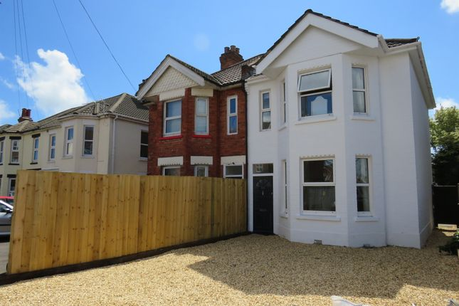Thumbnail Semi Detached House For Sale In Malmesbury Park Road Bournemouth