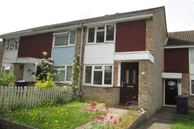 Thumbnail Terraced house to rent in Keats Way, Hitchin
