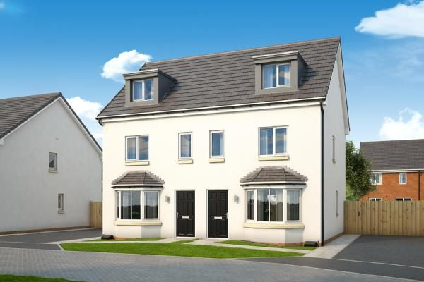 "Thumbnail Property for sale in ""The Roxburgh At Lyons Gate"" at Heathfield Road, Ayr"