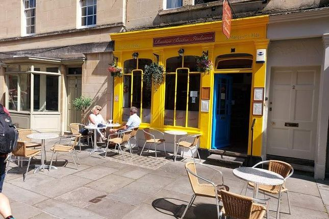 Thumbnail Restaurant/cafe for sale in Margarets Buildings, Bath