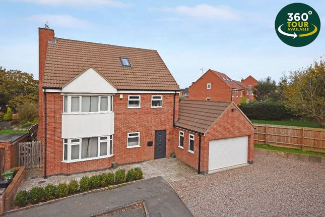 Thumbnail Detached house for sale in Cleveland Road, Wigston, Leicester