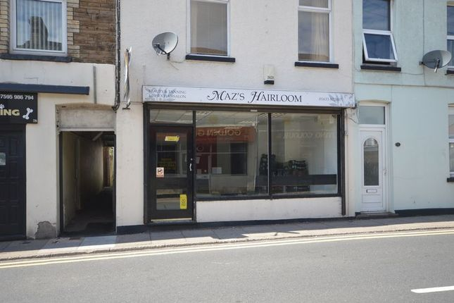 Thumbnail Retail premises to let in Chapel Street, Pontnewydd, Cwmbran