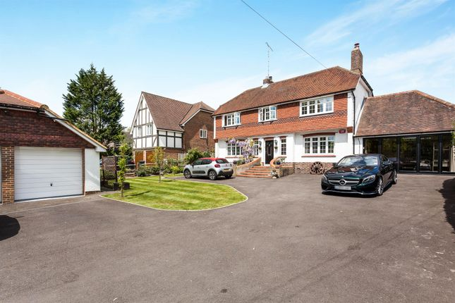 Thumbnail Detached house for sale in Borers Arms Road, Copthorne, Crawley