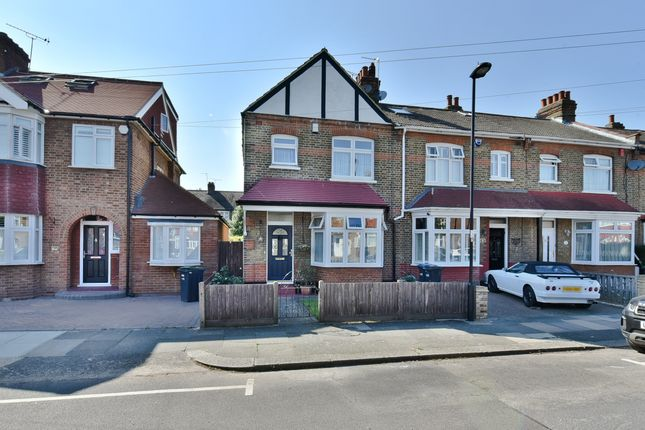 Thumbnail End terrace house for sale in Amberley Road, Bush Hill Park