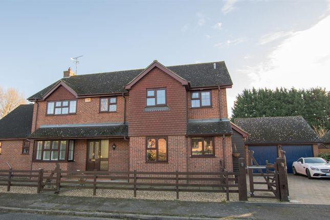 Thumbnail Detached house for sale in William Hill Drive, Bierton, Aylesbury