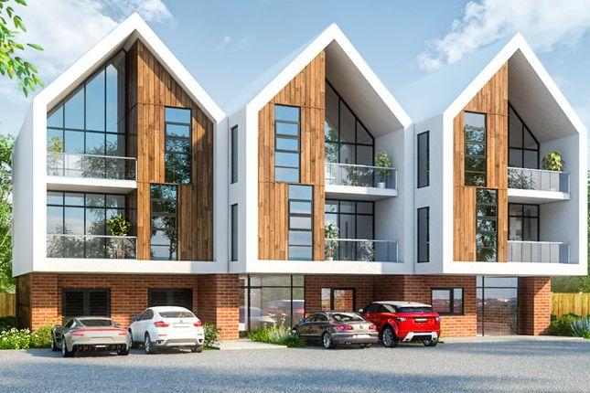 Thumbnail Flat for sale in Mollison Drive, Wallington