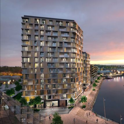 Thumbnail Flat for sale in North House, X1 Chatham Waters, Gillingham
