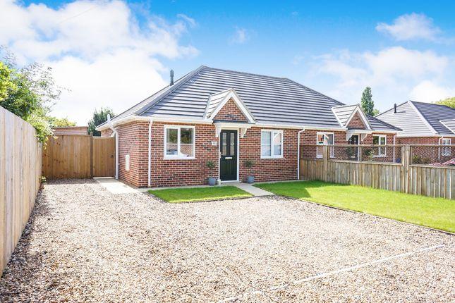 Thumbnail Detached bungalow for sale in Loddon Road, Ditchingham, Bungay